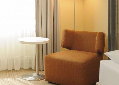 Mercure Hotel Dortmund Centrum Einzelzimmer Standard Sessel