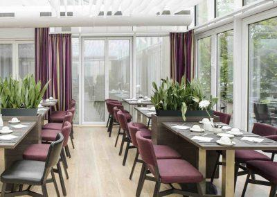 Mercure Hotel Dortmund Centrum Wintergarten Tische
