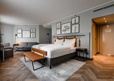 Mercure Hotel Dortmund Centrum Privilege Zimmer Totalansicht
