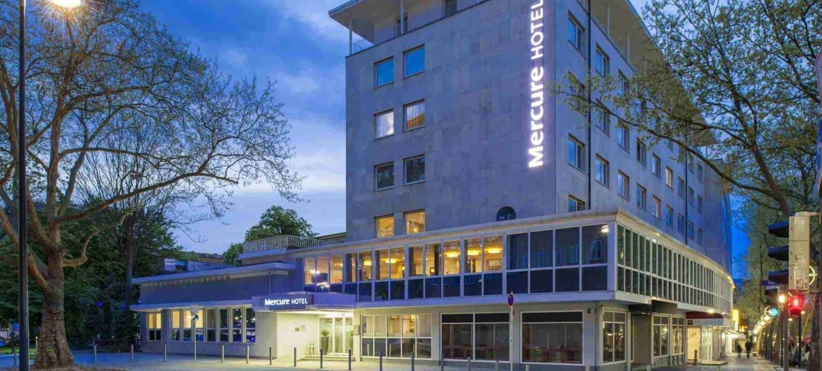 Mercure Hotel Dortmund Centrum Aussenansicht Seitlich
